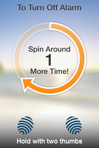 SpinMe Alarm Clock - Guaranteed Wake Up for Deep Sleepers screenshot 3