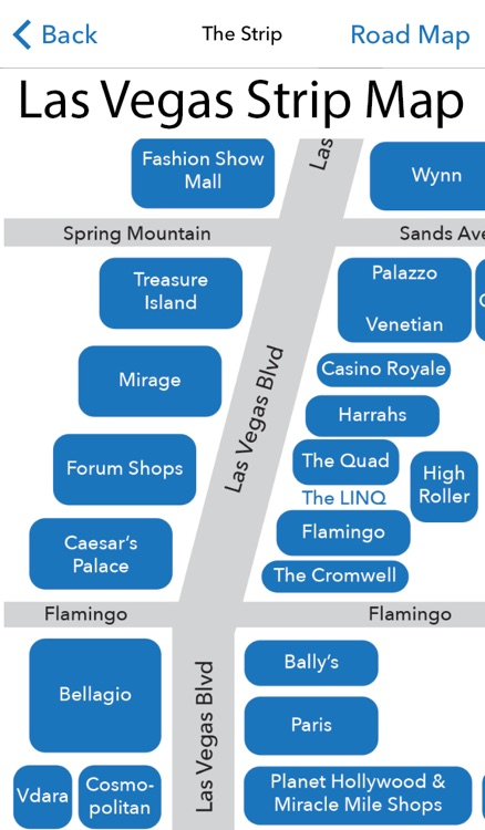Vegas Indoor Maps Free Casino Maps for the Las Vegas Strip and