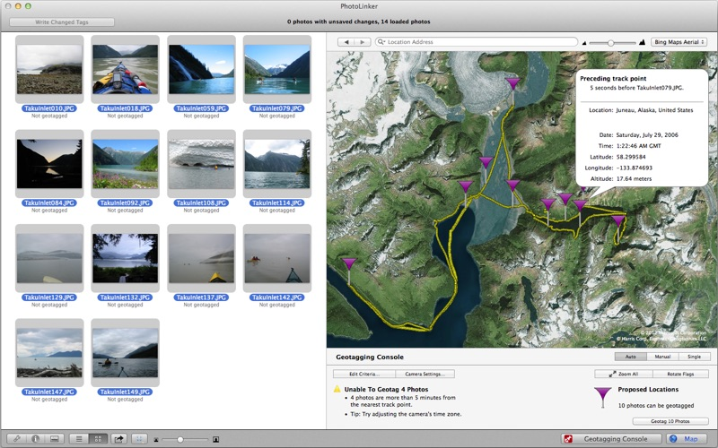 PhotoLinker Screenshots