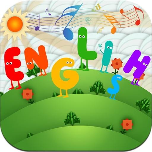 宝宝学英语 - 幼儿英语大全 (有声版) -  歌曲,故事,顺口溜,童话等