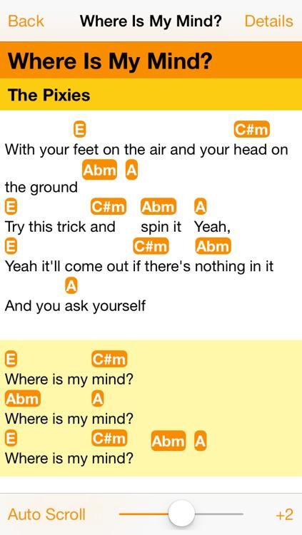 MySongbook - Lyrics & Chords by Or Sharir