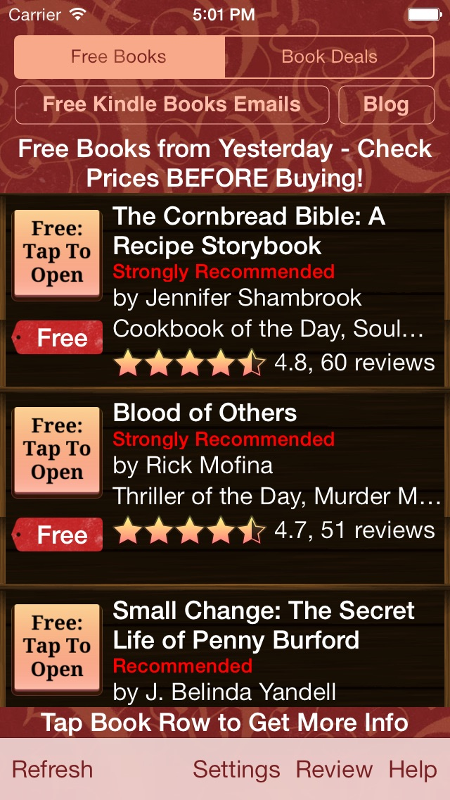 download Free Books & Deals for Kindle apps 2