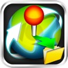 Location Manager Lite - Save, Share, Route, and Map all of your Favorite Locations!