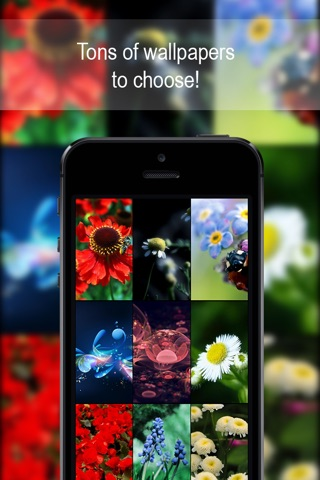 Customizable Flower Wallpapers HD Free ! screenshot 2