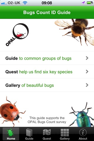 OPAL Bugs Count Pocket ID Guide screenshot 1
