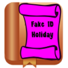 ChristApp, LLC - Fake ID Holiday  artwork