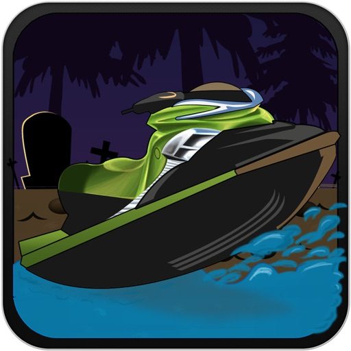 Haunted Jet Ski Race at Toxic Lake PRO iOS App