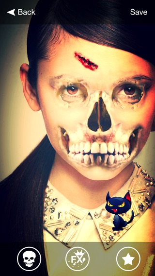 Halloween Makeup - Scary Faces, Stickers on the App Store