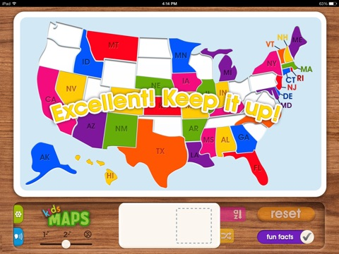Kids Maps US Map Puzzle On The App Store - Map of the us for kids