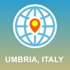 Umbria, Italy Map - Offline Map, POI, GPS, Directions