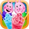 我的快樂小豬豬冷凍Slushie派對時間會製作工坊遊戲 - 免費應用程序