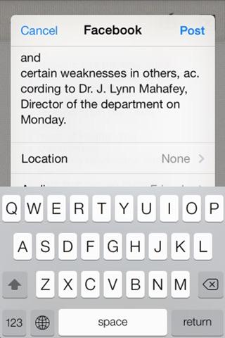 Screenshot of RecogNow