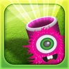 Candy Flick Toss Feed The Monster Free Addicting Skill Games for Girls and Boys to Play