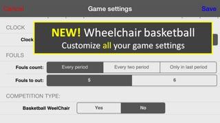 Screenshot of LetsBasket+ Statistiche Basket3
