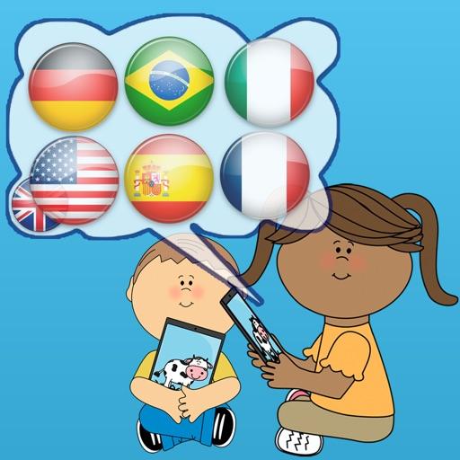 Kids Learn Languages iOS App
