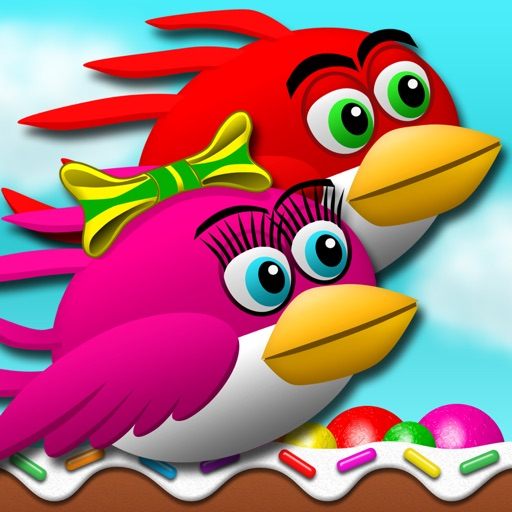 Goochie Birds - Flappy Fun in a Candy Coated World of Sweetness! iOS App