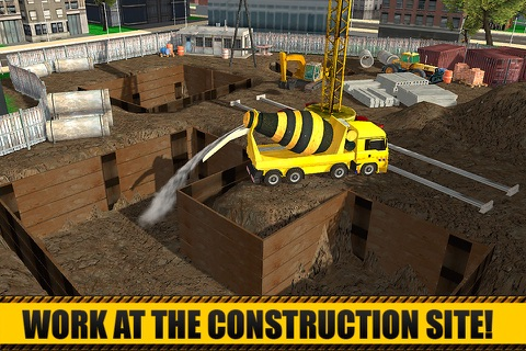City Construction Simulator 3D screenshot 1