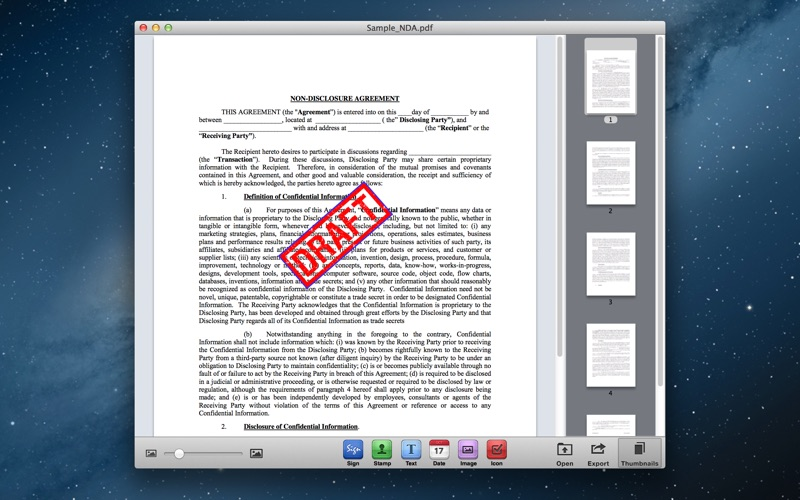 Screenshot #3 for Sign It! - Fill, Sign & Send PDF Documents