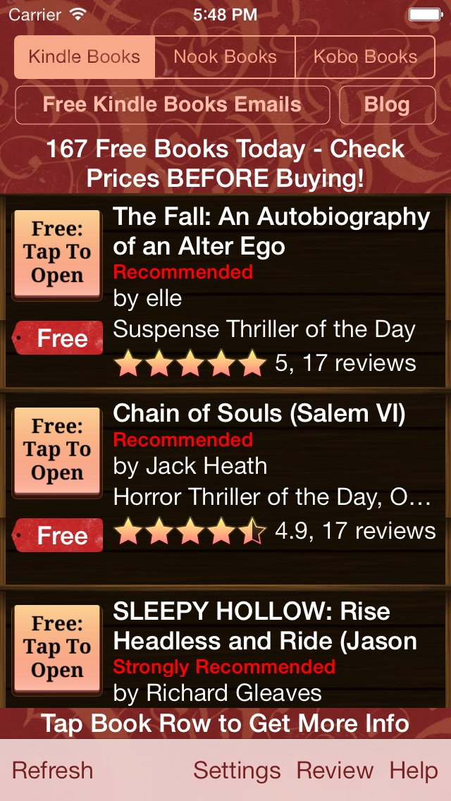 download Free Books for Kindle, Free Books for Nook, Free Books for Kobo - Free Books Monster apps 4