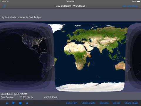 """""""Day and Night - World Map HD"""" im App Store"""