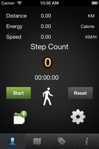 Pedometer Pro - Map Run Pacer Weight Loss + Blood Pressure Tracker Distance & Calculating Walk step.s & Calorie Counter Fitness Record Walking time screenshot 1
