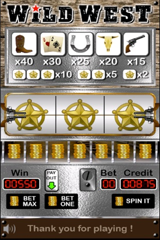 Slots of the Wild West screenshot 2