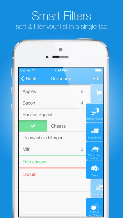 groceries smart shopping list create edit and share your