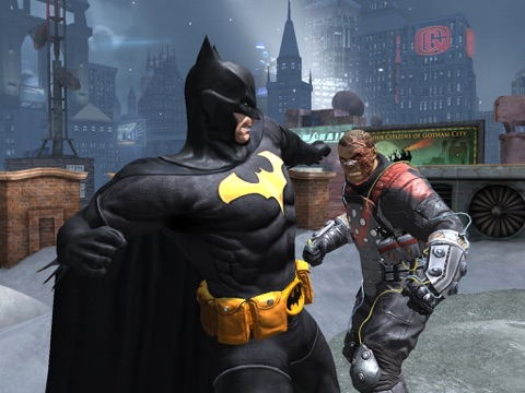 Screenshots of Batman: Arkham Origins for iPad