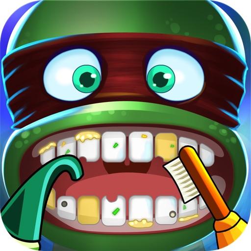 疯狂办公室牙医 – 关于牙齿卫生的重要性的教育游戏!
