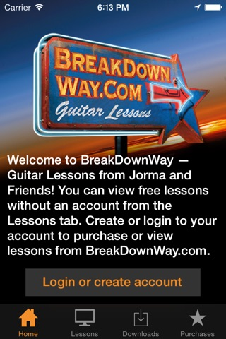 Lessons from BreakDownWay screenshot 1