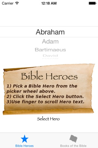 Bible Heroes screenshot 1