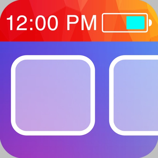 Color Status Bars - Customize your wallpaper with cool color status bars for iOS 7 iOS App