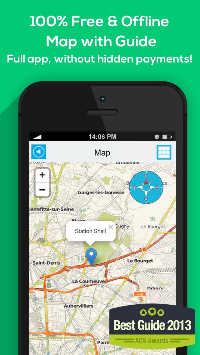 download Alemania mapa offline, guía, clima, hoteles. Libre GPS navegación. apps 1