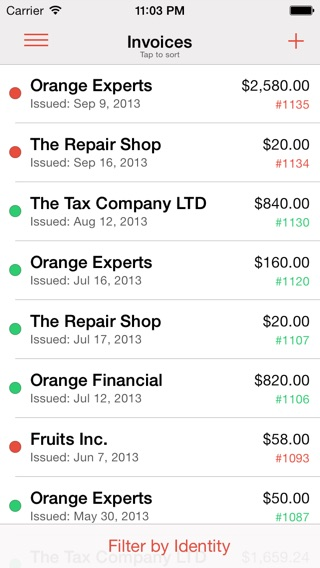 Cash Payment Receipt Pdf Expert Invoice  Pdf Invoice And Estimate Generation Time Tracker  Invoice Template For Word Excel with Printable Free Invoices Excel Iphone Screenshot  Ocr Receipts Word