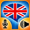 iSpeak English: Interactive conversation course - learn to speak with vocabulary audio lessons, intensive grammar exercises and test quizzes