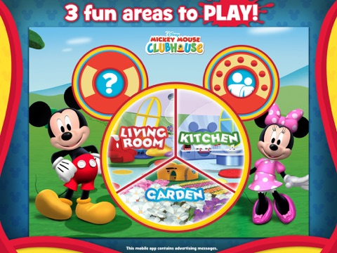 Screenshot #1 for Mickey Mouse Clubhouse - Color & Play