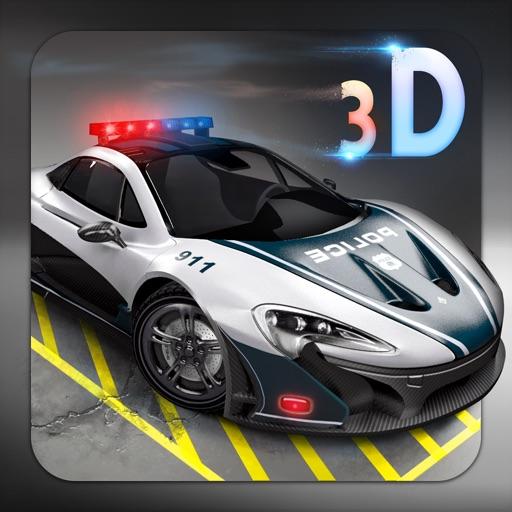 Skill 3D Parking - Police Station iOS App