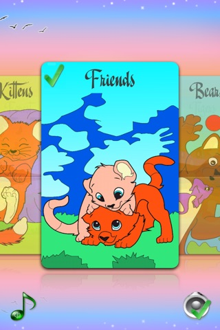 Coloring Pages with Animals for Girls & Boys - Painting Sheets with Tomcat, Hamster & Hippo for Kids screenshot 2