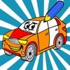 活躍 圖畫書 汽車兒童的:有許多圖片像賽車,客車,拖拉機,卡車,汽車和更多。遊戲學習:如何畫一幅畫