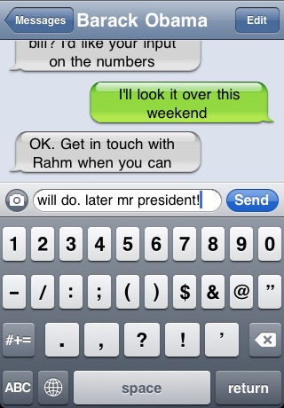Fake-A-Message ™ (MMS & SMS!) screenshot 2