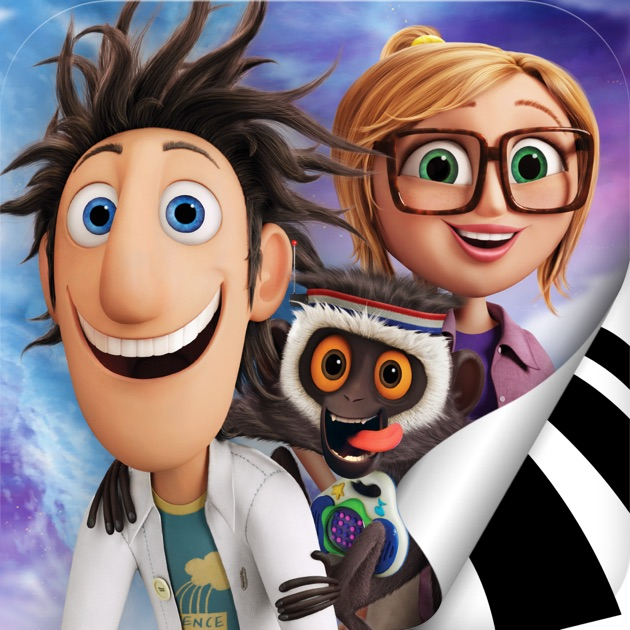 Cloudy with a Chance of Meatballs Movie Storybook  Cloudy 2