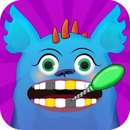Crazy Monster Dentist - Free Fun Kids Games iOS App