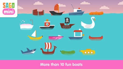 Sago Mini Boats screenshot two