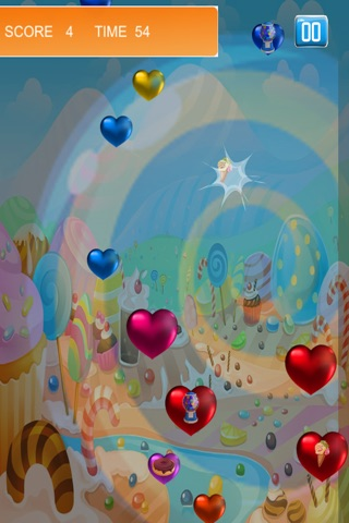 Heart Crusher Pop - Fun Shooting Blast for Kids FREE by Pink Panther screenshot 1