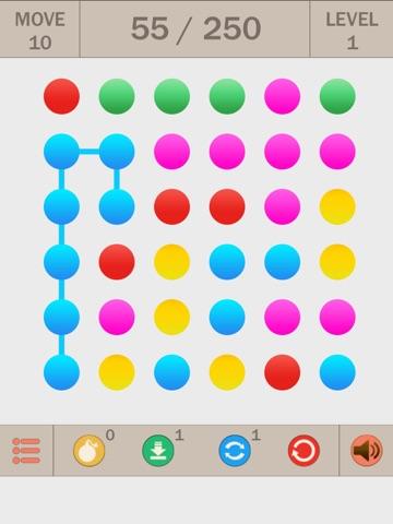Collect Points Line ~ Логическая игра головоломка на iPad