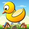 Flappy Pato Quacky - El juego de una carrera pájaro pequeño pato