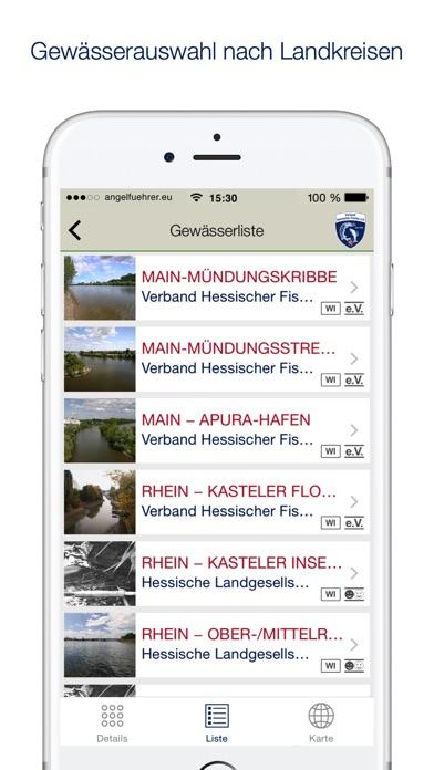 Angelführer Hessen screenshot two
