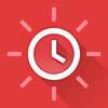 빨간 시계 - 간결하고 아름다운 알람 시계
