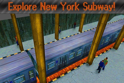 New York Subway Train Simulator 3D Full screenshot 2