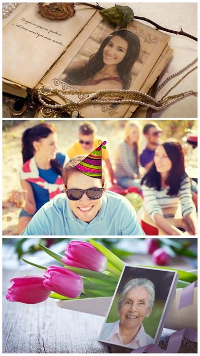 Birthday Cards Free: happy birthday photo frame, gift cards ...
